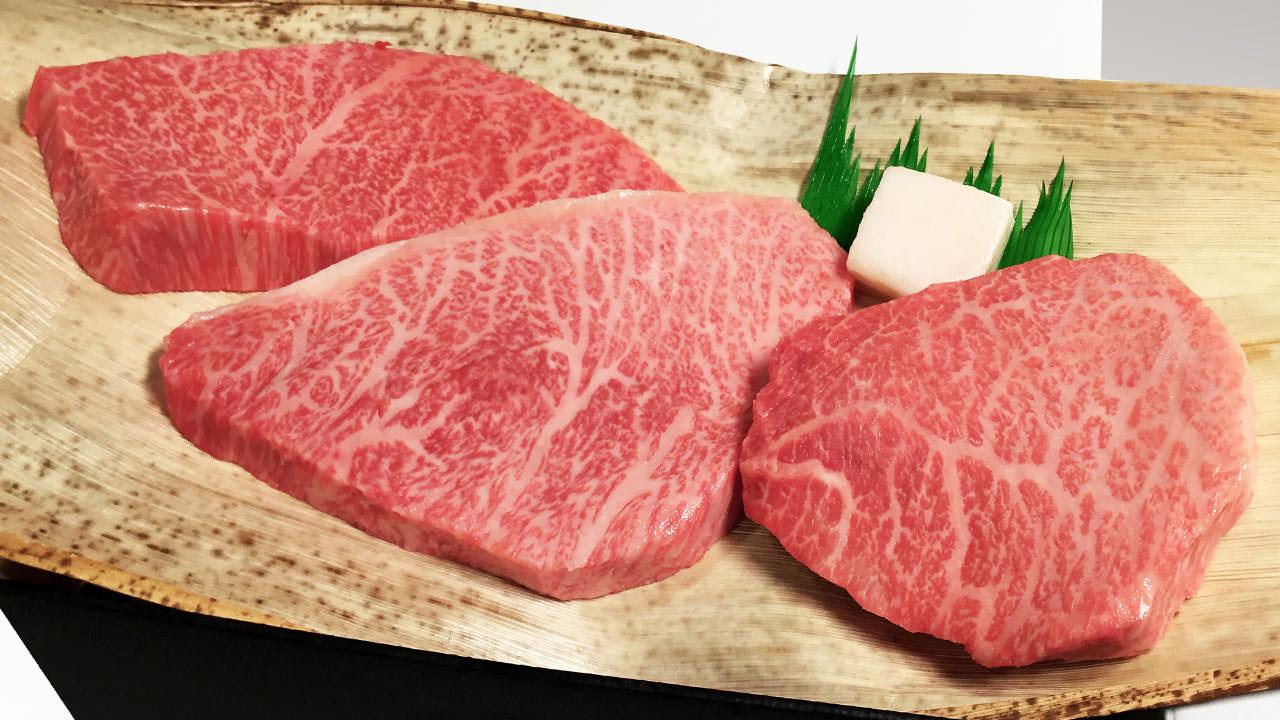 松阪牛の赤身
