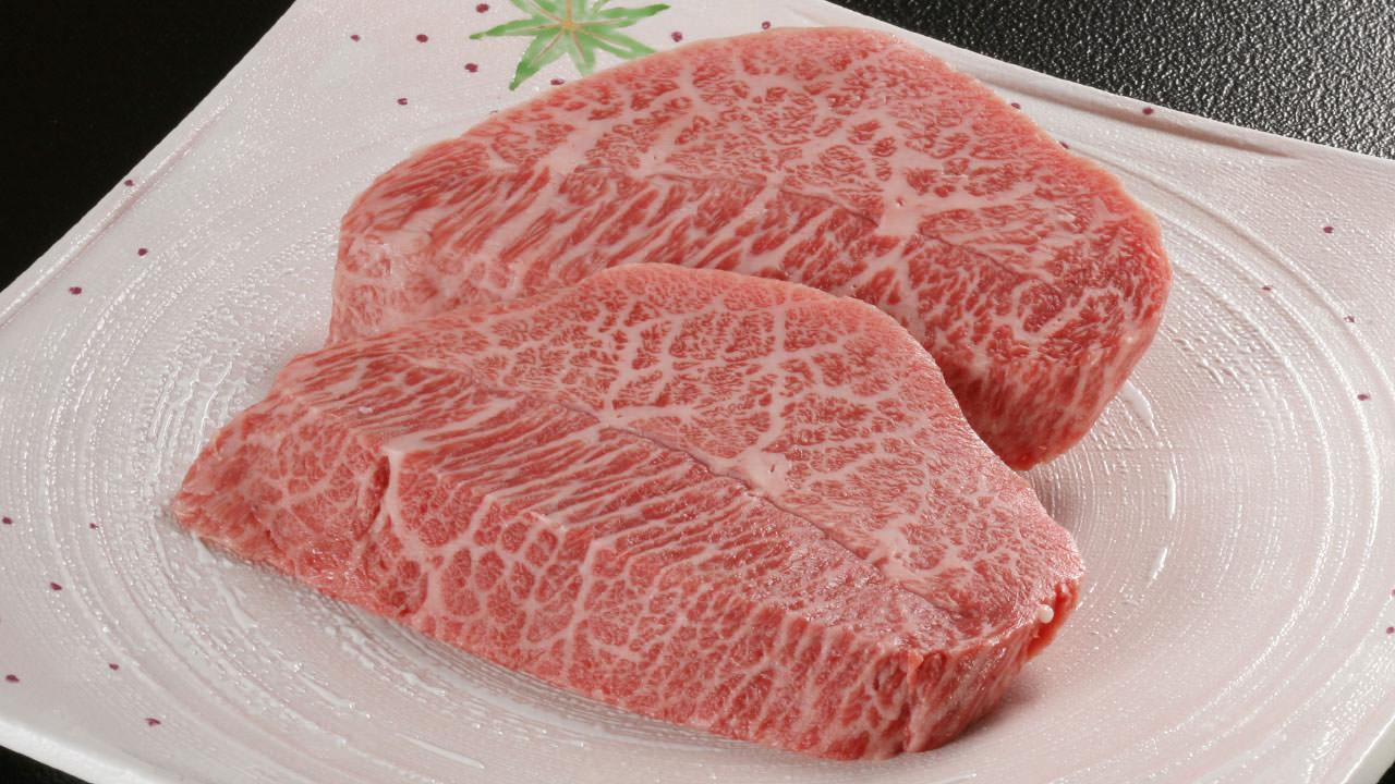 松坂牛のミスジステーキ