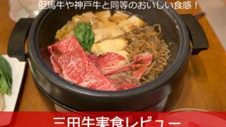 三田牛実食レビュー